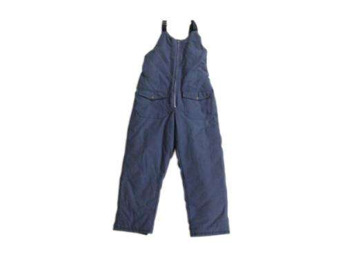 Thickened overalls