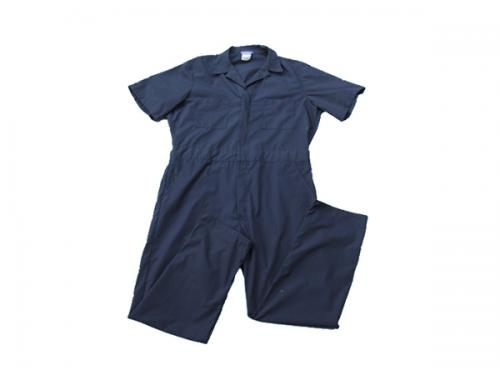 Short sleeved coverall